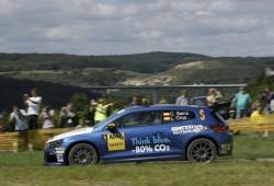 Volkswagen Scirocco Cup R debutó en WRC de Alemania.
