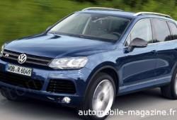 Volkswagen Touareg R, a por el BMW X5, X6, Porsche Cayenne Turbo y Mercedes ML63 AMG