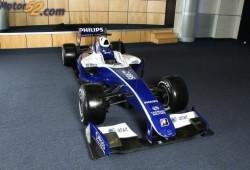 Williams cambio los colores de su F1