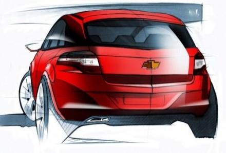Chevrolet Agile, el Fiesta ya no reinará solo