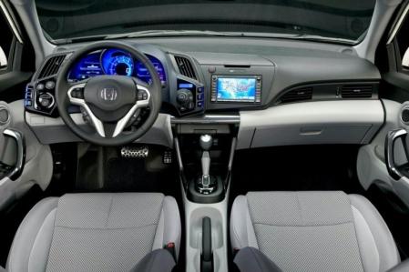 Detroit 2010: el Honda CR-Z hace su debut comercial.