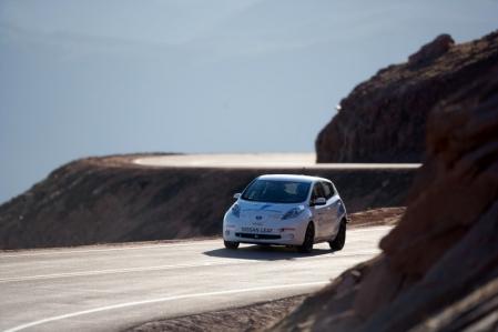 El Nissan Leaf se impone en la subida a Pikes Peak