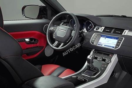 Este es el Range Rover Evoque 5 puertas
