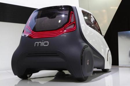Fiat Mio concept presentado en Sao Paulo