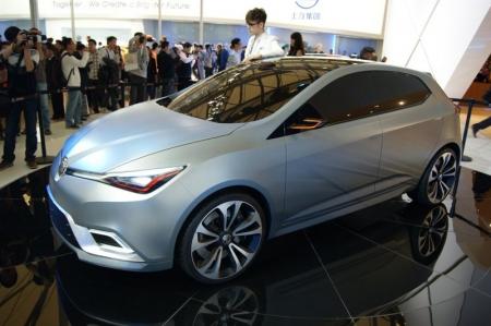 MG5 Concept desde el Salón de Shanghái 2011