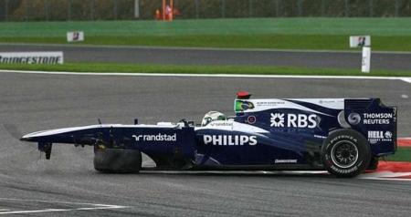 Williams: última actualización del año. Concentración ya en 2011