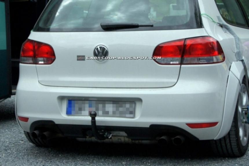 Mula del Golf GTI 2013 espiado en pruebas