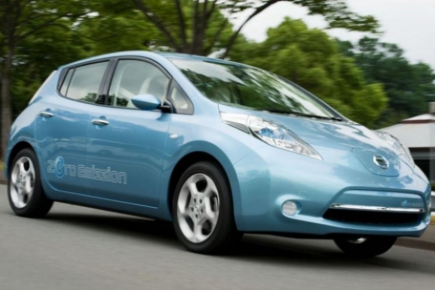 Nissan Leaf a punto de llegar a Europa y Estados Unidos