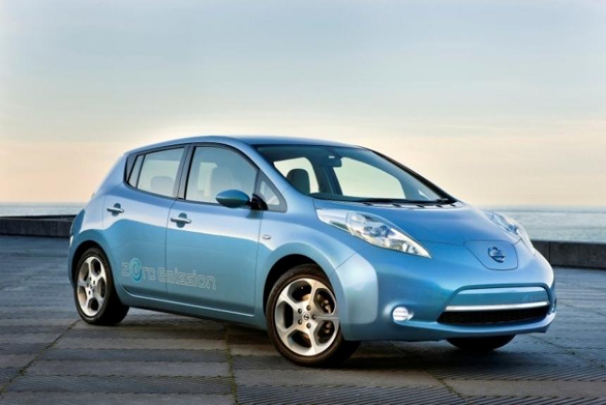 Nissan Leaf, familiar y eléctrico
