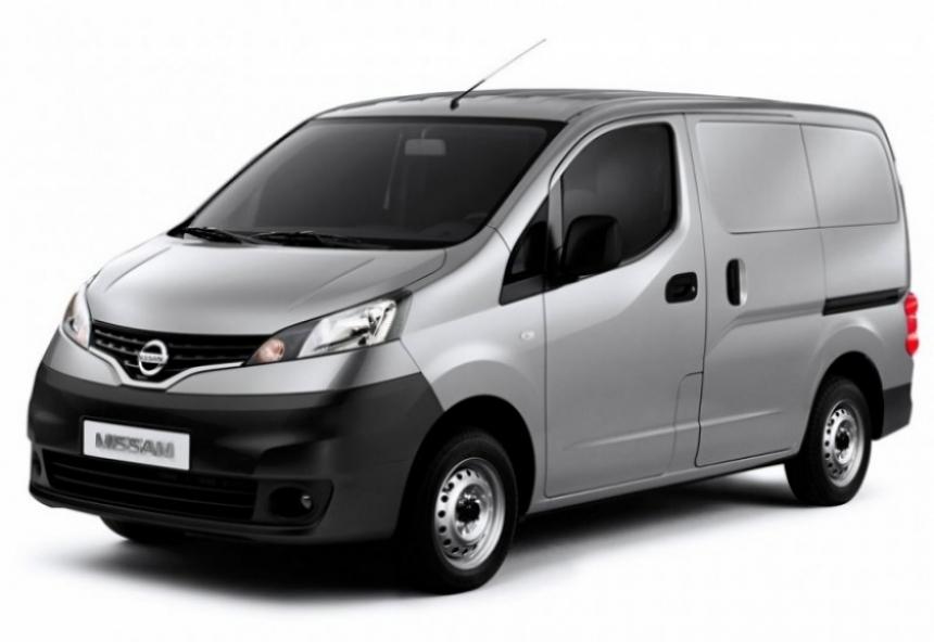 Nissan NV200, fabricado y presentado en Barcelona