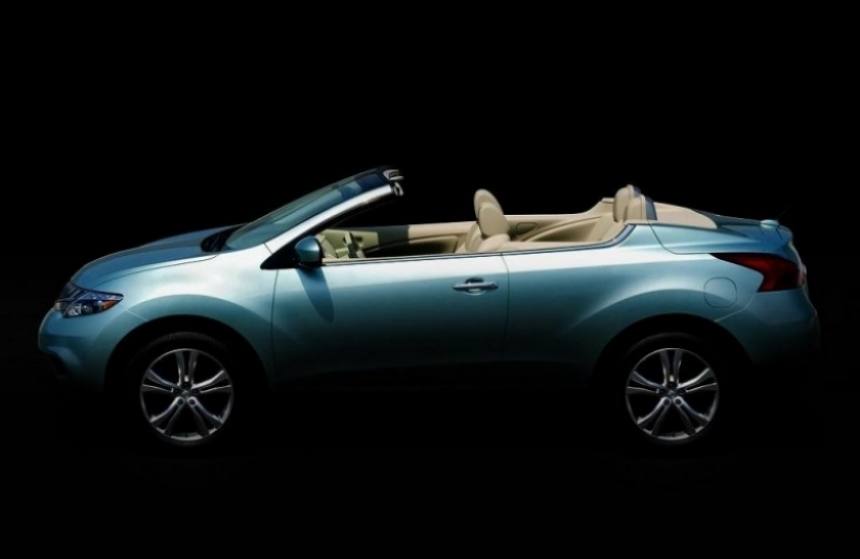 Nissan revela la primera imagen del Murano CrossCabriolet