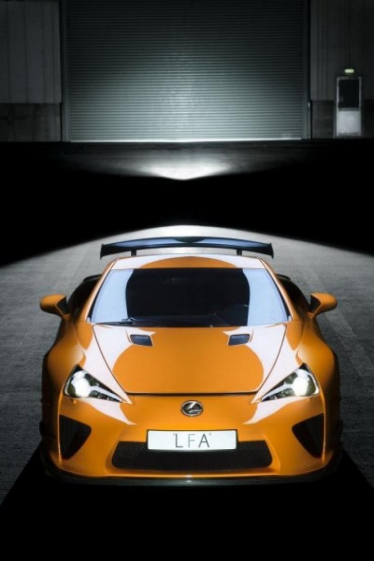 Nuevas fotos del Lexus LFA Nürburgring Edition