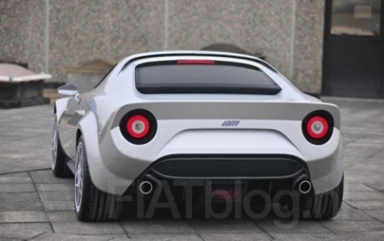 Nuevas imágenes del posible Lancia Stratos.