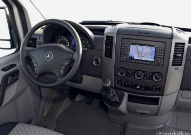 Nuevo Mercedes Benz Sprinter 2009