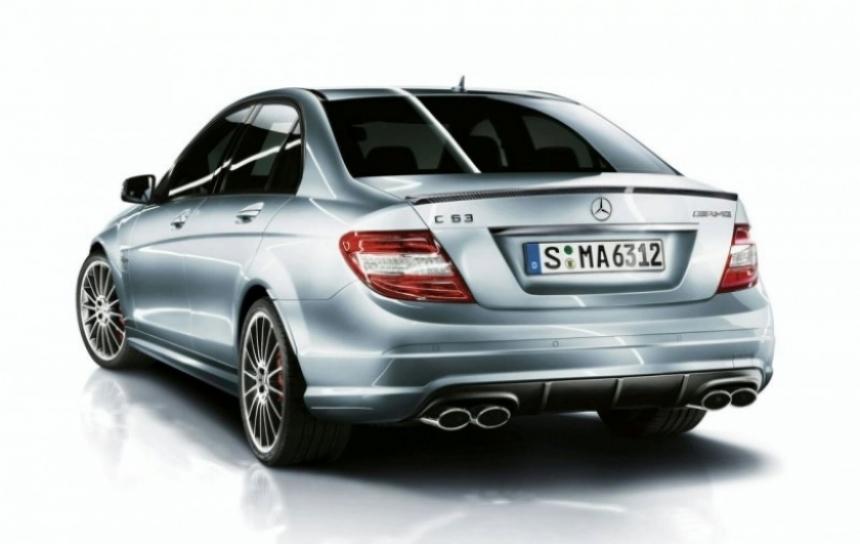 Nuevo paquete deportivo para el Mercedes C63.