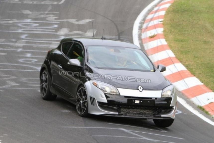 Nuevo Renault Megane RS Edición Especial cazado en la pista de pruebas