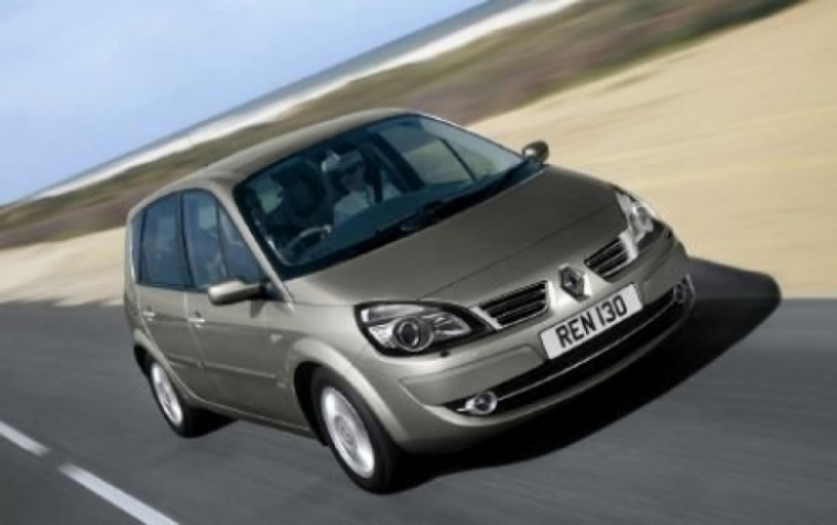 Nuevo Renault Scenic tendría un valor de 13,595 libras esterlinas