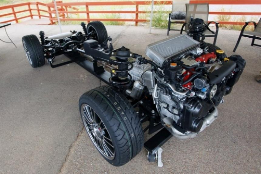 Nuevos Spot del 2011 Subaru Impreza WRX STI