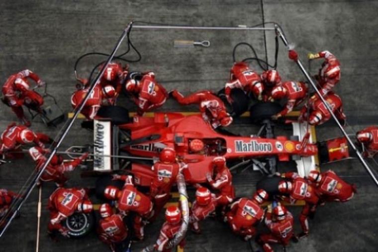 Objetivo 2010: tres segundos por parada en boxes