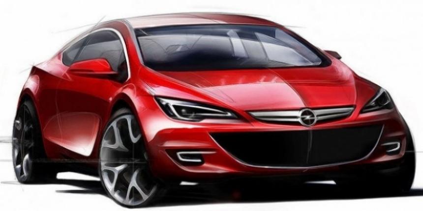 Opel Astra 2010: Primeras imágenes