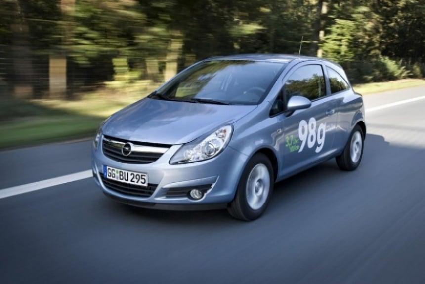 Opel Corsa 2010 ecoFlex, menor consumo y emisiones