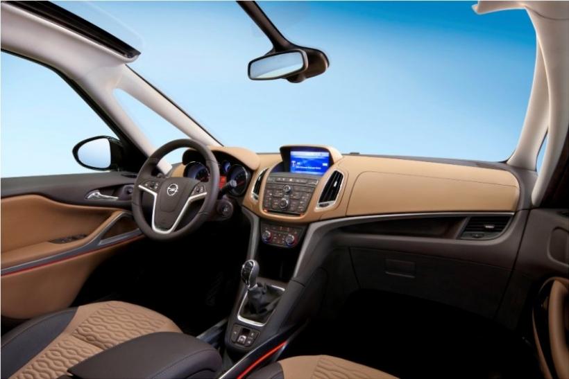 Opel presenta el Zafira Tourer de producción