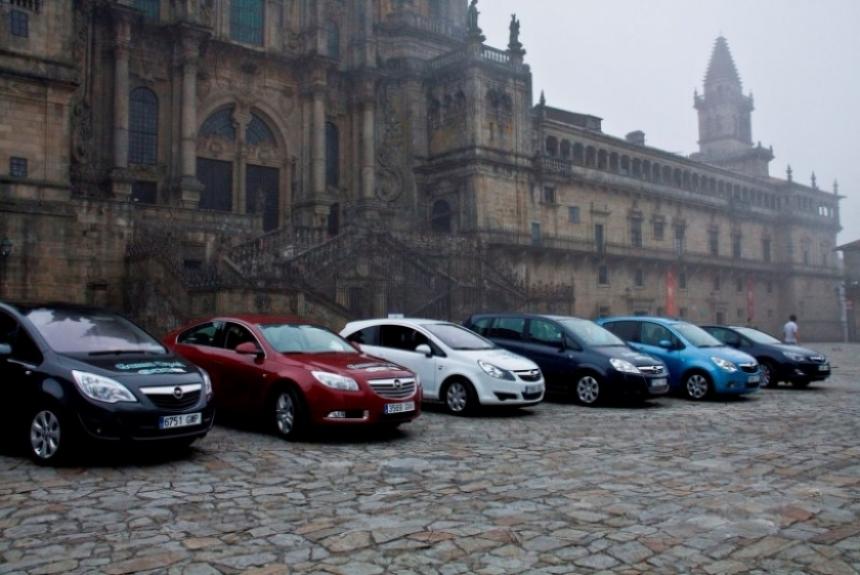 Opel presentó la versión EcoFLEX del nuevo Meriva.