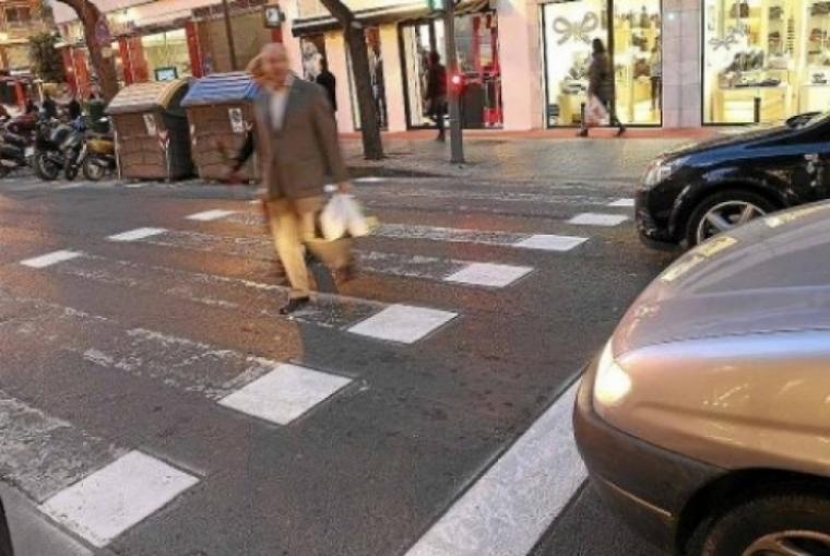 Pasos de peatones más económicos y menos visibles