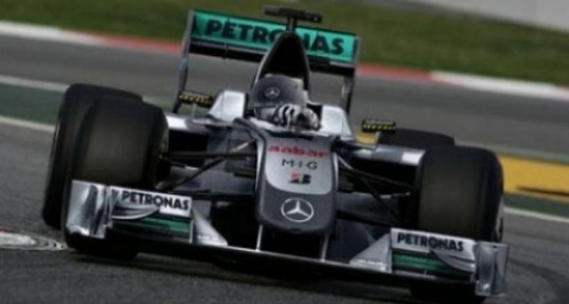 Petronas nuevo patrocinador principal de Mercedes GP