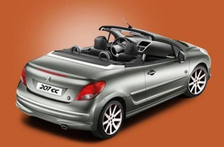 Peugeot modifica la gama del 207