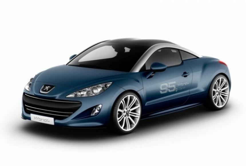 Peugeot presenta los 3008 y RCZ HYbrid4,