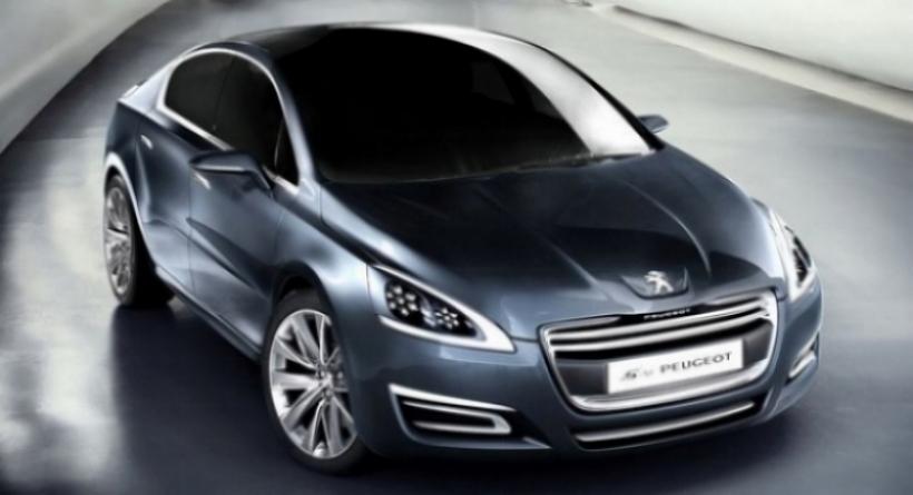 Peugeot sigue probando al nuevo 508