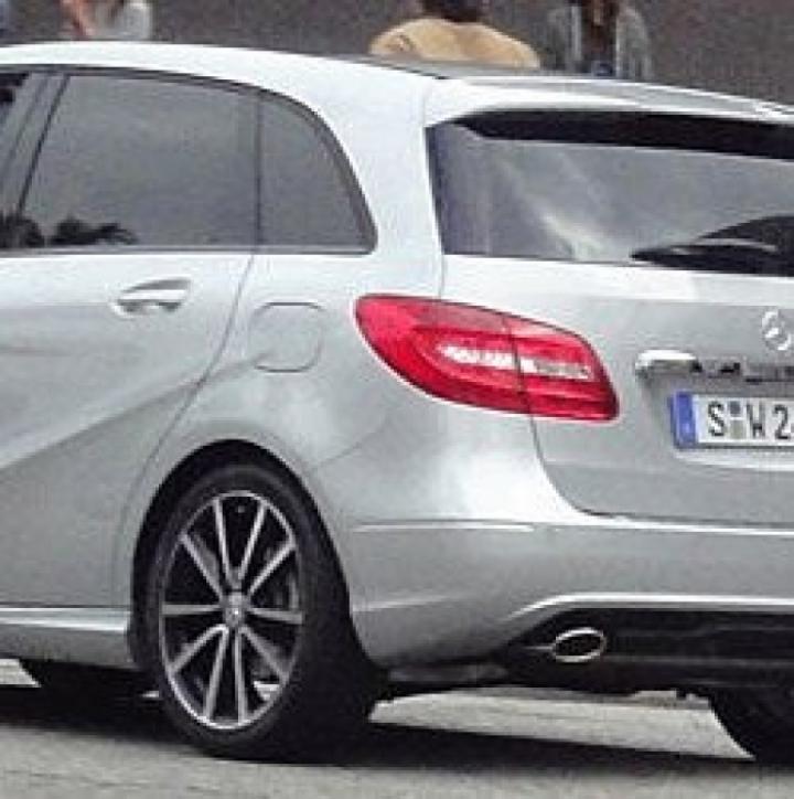 Pillado el nuevo Mercedes-Benz Clase B al descubierto