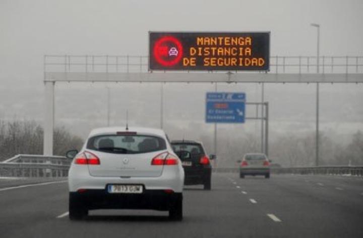 Ponle Freno pedirá marcas de distancia de seguridad en las carreteras