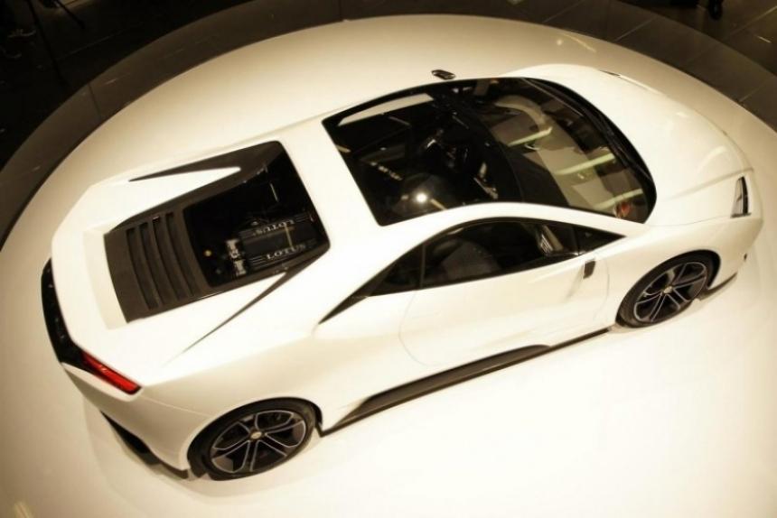 Por ahora, Lotus solo desarrollará el Esprit Concept