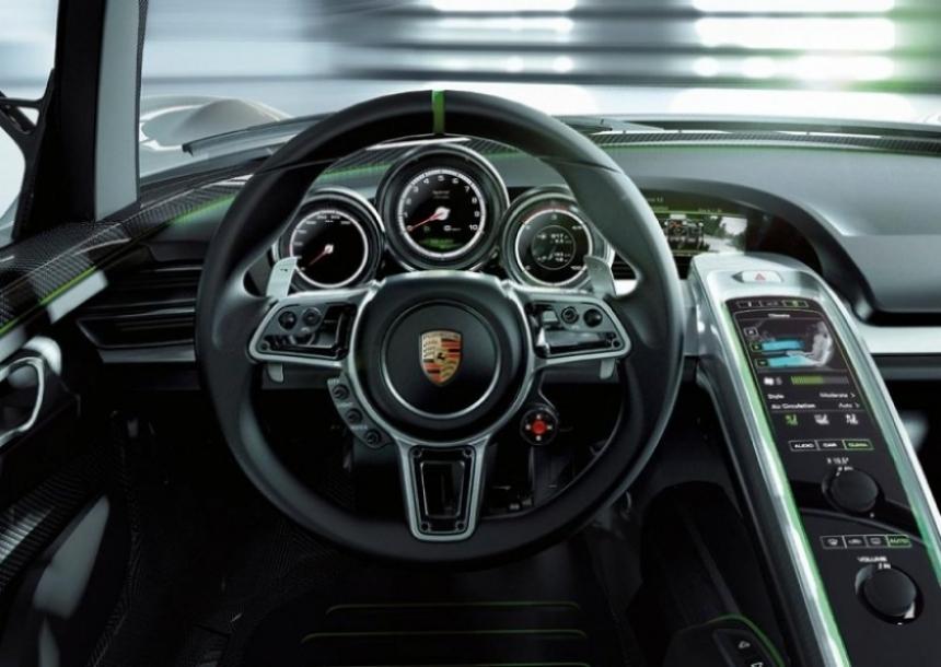 Porsche 918 Spyder, híbrido y ultrarrápido.