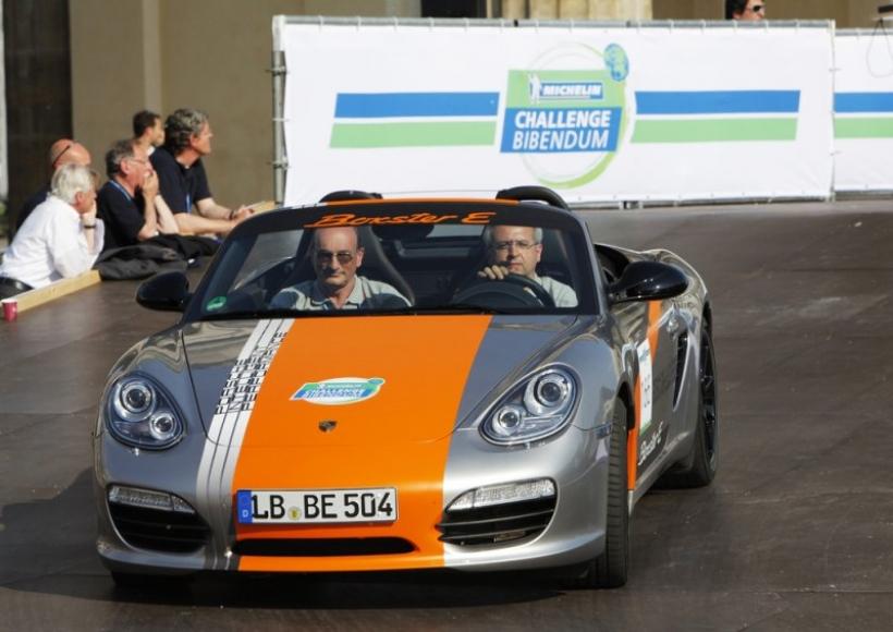 Porsche Boxster E, el deportivo eléctrico
