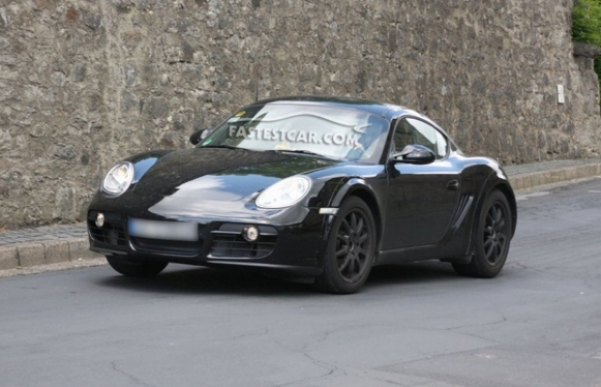 Porsche Cayman 2012, pruebas en Alemania