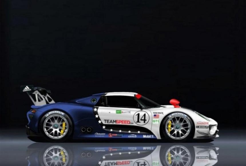 Porsche presentaría el 918 Coupe Racing en Detroit