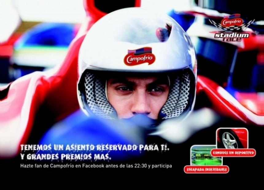 Preparados, listos y al Campofrío Stadium Race en el Vicente Calderón