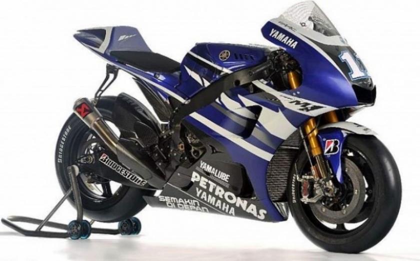 Presentación de la nueva Yamaha de Lorenzo