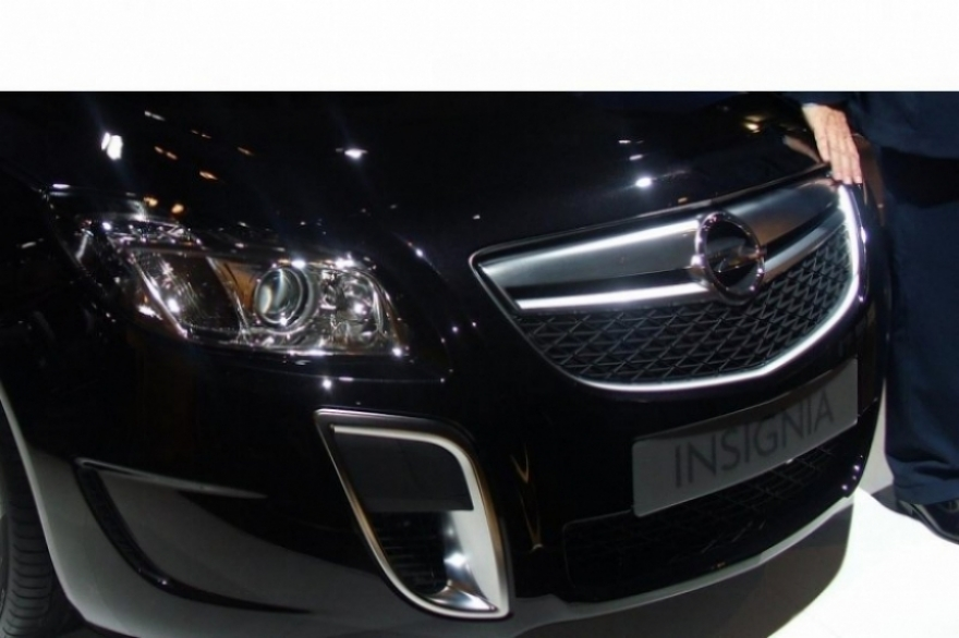 Presentación mundial en Barcelona del Opel Insignia OPC