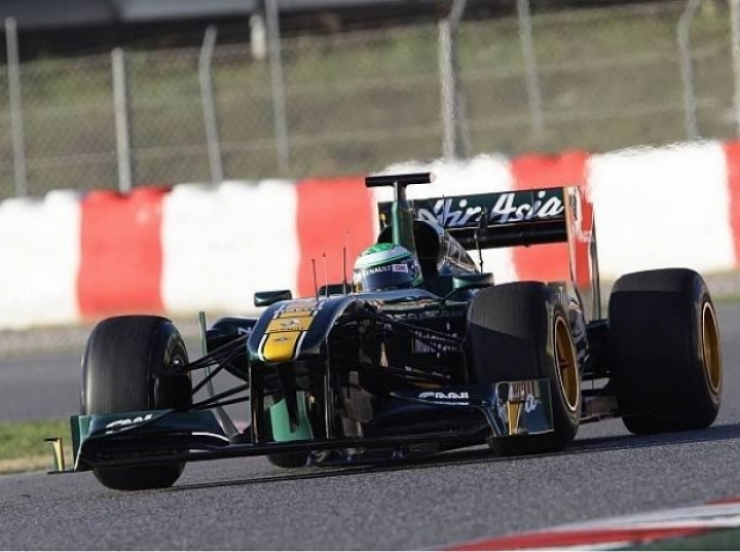 Pretemporada, terceros tests Montmeló: Lotus