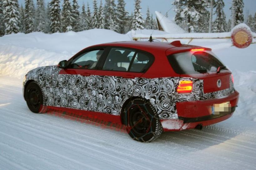 Primer teaser del BMW Serie 1 2012