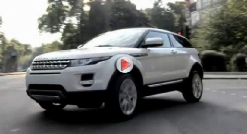 Primer video del Range Rover Evoque en movimiento.
