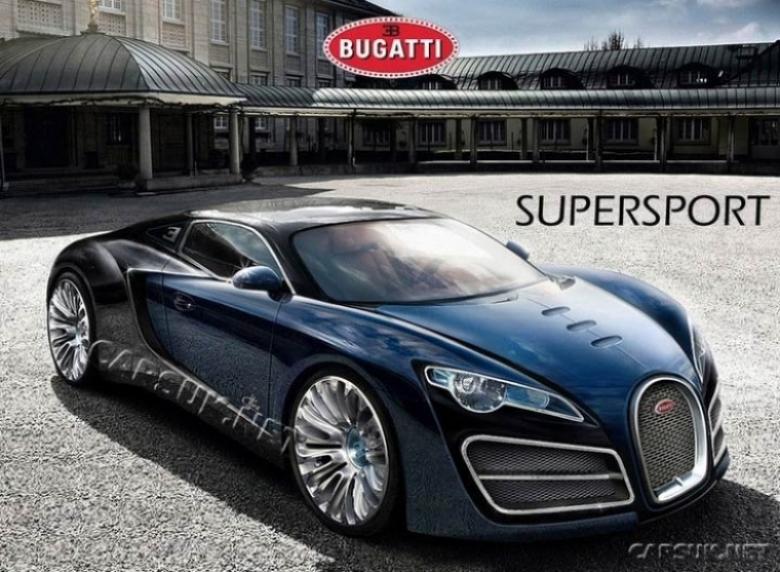 Primera foto del Veyron Supersport.