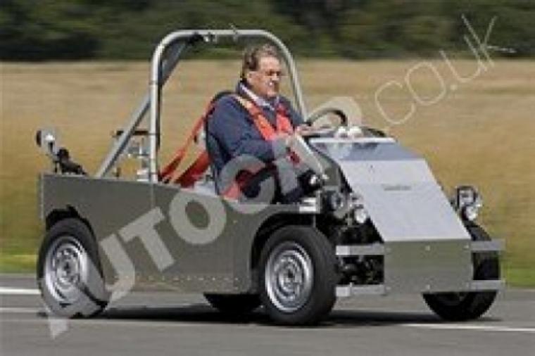 Primera imagen del T25 de Gordon Murray.