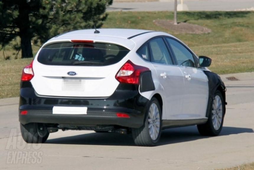 Primeras fotos espías del Ford Focus Eléctrico