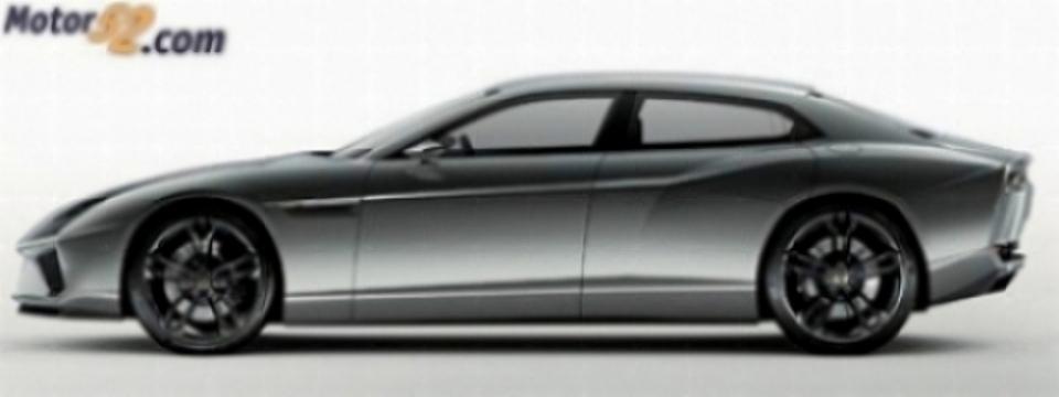 Prototipo Lamborghini Estoque, fotos y algo de información.