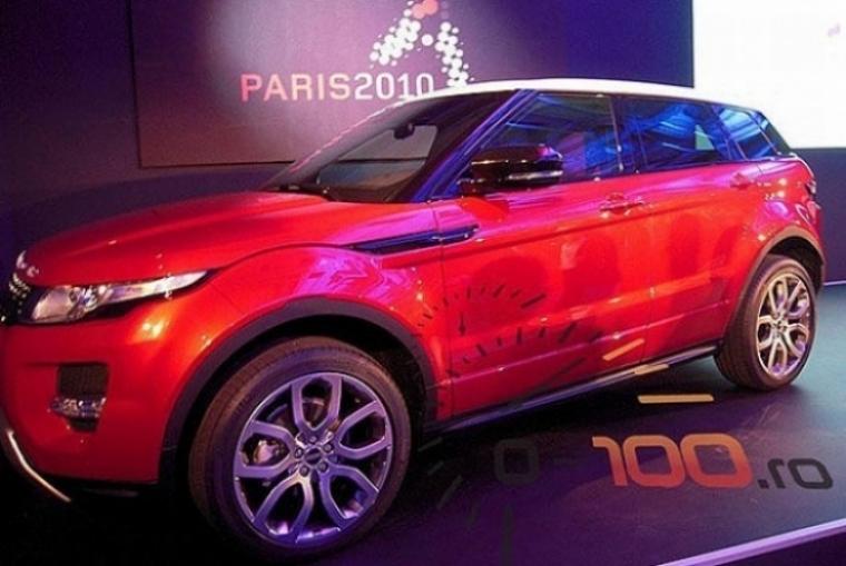 Range Rover Evoque 5 puertas, primera foto sin camuflajes